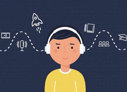 Dành thời gian luyện nghe và lặp lại