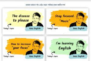 Bật Mí Tài Liệu Tiếng Anh Miễn Phí Tự Học Giao Tiếp Tại Nhà Hiệu Quả