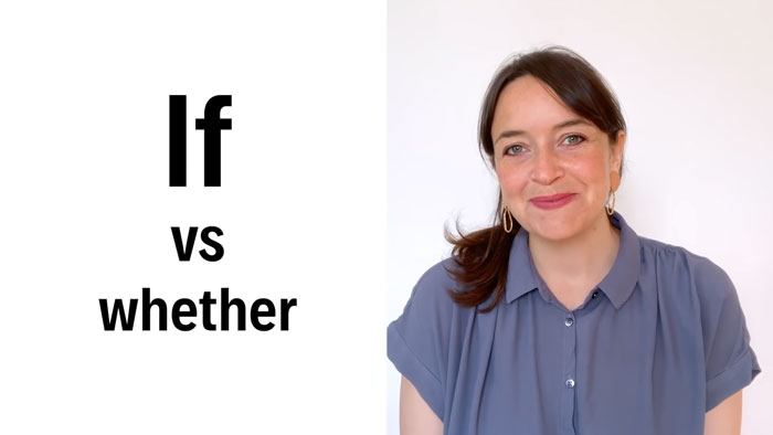 Phân biệt giữa Whether và If