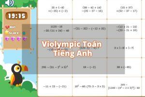 Bí kíp đạt giải cao trong kỳ thi Violympic Toán tiếng Anh