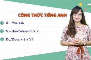 Cách học thuộc các công thức tiếng Anh đơn giản nhất