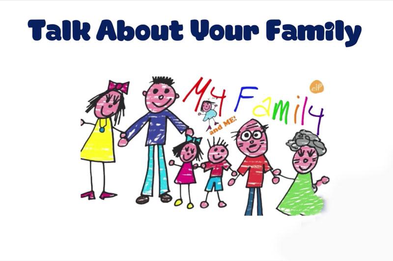 Giới thiệu về gia đình bằng tiếng anh