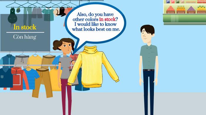 Làm sao học tiếng anh giao tiếp mua sắm để trò chuyện cùng khách?