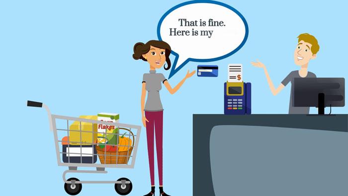 Một số mẫu câu thông dụng về tiếng anh mua sắm