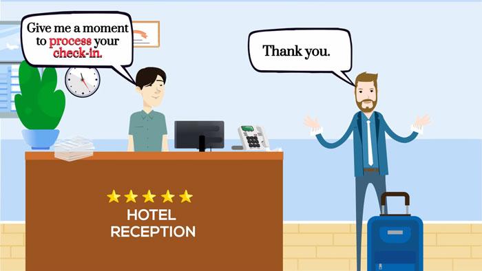 Tiếng Anh giao tiếp khách sạn rất quan trọng