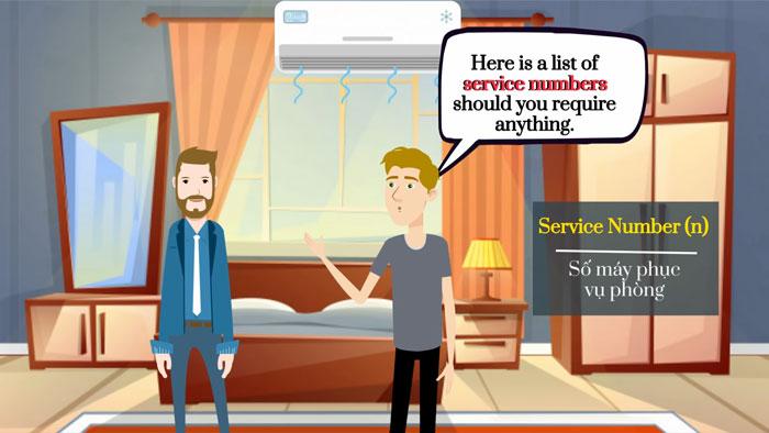 Có những thuật ngữ chuyên ngành khách sạn thông dụng nào?